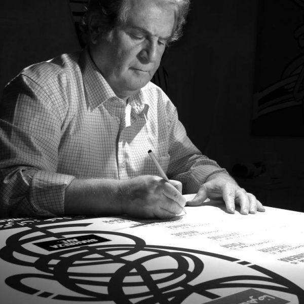 Koorosh-Shishegaran-signing-the-ArtArt-reprints--768x1024